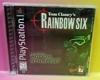 RAINBOW SIX LONE WOLF ~ Playstation 1 2 PS1 PS2 Game Complete Mint Disc 1 Owner