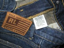"Polo Ralph Lauren Jeans Kelly Size 6 Inseam 32"" 100% Cotton"