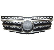 Grille Assembly Center Grill Silver for 2009-2012 Mercedes Benz W204 GLK350 New