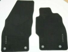 Genuine GM / Vauxhall Corsa D full velour floor mats 5066394 13364853