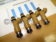 4x Subaru 700cc Top Feed Fuel Injectors: Flow Tested & Cleaned
