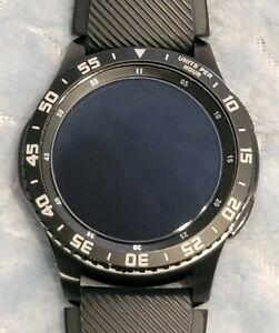 Samsung Gear S3 Frontier SM-R760 Smartwatch. MST + Bluetooth w/ Custom Bezel!