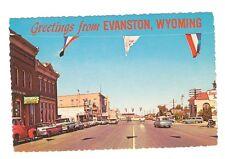 postcard Evanston Wyoming WY