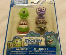 4-Pack Monsters University Mini Figure Toy Mike Randy Don TBA