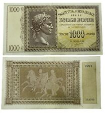 1000 Drachmai 1941 Greece
