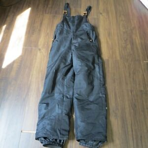 Champion C9 Size XL 16-18 Bibs Snowpants Snow Pants Black FREE SHIPPING