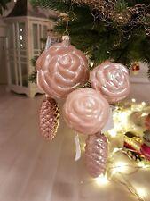 ♥ COLMORE ♥ edle Blüte ♥ Blume ♥ Stecker ♥ Baumschmuck ♥ Weihnachten ♥