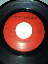 """TIM STEVENS Whose Side Are You On / There She Is STEBRO 1001 45 VINYL 7"""" RECORD"""