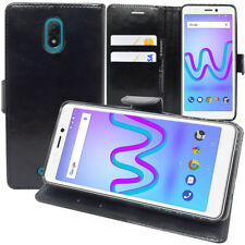Etui Housse Coque Pochette Portefeuille Support Video Wiko Jerry3/ Jerry 3 5.45""
