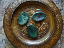 *BLOODSTONE* Pocket Worry Stone (1) Gemstone Wiccan Pagan Metaphysical