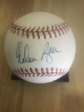 Nolan Ryan Auto Official American League Baseball Rangers MLB HOF Mets Astros