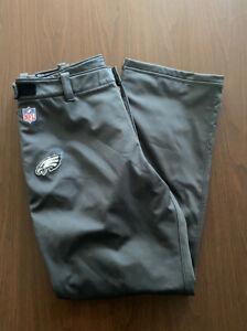 Philadelphia Eagles Rare Team Issued Nike Adjustable Pants Mens Size XL