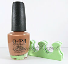 OPI Nail Lacquer Polish Chocolate Moose NLC89 full size .5oz NEW +bonus!