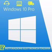 WINDOWS 10 Professional Pro Key 32/64 Bit Licenza Retail Esd - Fattura Italiana