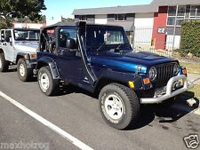 "JEEP  WRANGLER  """" WRECKING """"  TJ 2005  6 SPEED"