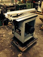 "Delta Uni-Saw 10"" Tablesaw New bearing & belts in arbor"