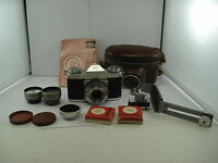 Zeiss Ikon Contaflex I SLR 35mm Film Camera with Tessar 45mm 2.8 Lens