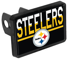 Pittsburgh Steelers Color Duo Tone Universal HITCH Bumper Trailer Cover Football