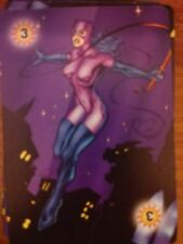 DC Overpower Energy Level 3 (Catwoman) Power Card X2 NrMint-Mint