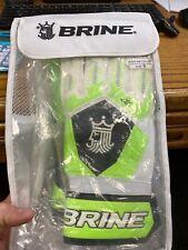 Brine King Match 3X Soccer Goalkeeper Gloves Football Goalie Size 8 Adult Kids