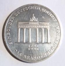 BRD - 10 DM Gedenkmünze - 200 Jahre Brandenburger Tor - 1991 - A
