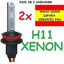 2x BOMBILLA H8 H11 H9 XENON 35W / 55W HID COCHE O MOTO REPUESTO RECAMBIO