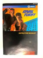 Rival Turf SNES Super Nintendo Instruction Manual Only Book Booklet - NO GAME!