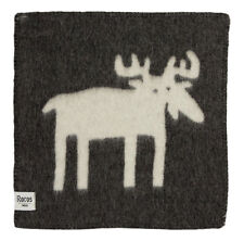 "NEW! Roros Tweed 100% Fine Norwegian Wool ""ELG"" Elk Reversible Seating Pad"