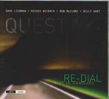 DAVE LIEBMAN  RICHIE BEIRACH  RON MCLURE BILLY HART CD RE DIAL LIVE IN HAMBURG