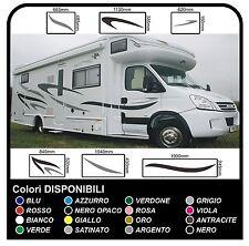 adesivi CAMPER grafica 3 in vinile Set Camper Van RV Caravan Motorhome roulotte