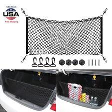 35*12'' Envelope Style Trunk Cargo Net Car Interior Parts Accessories Universal