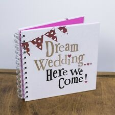 Dream WEDDING PLANNER Book Journal Spiral bound notebook pad New