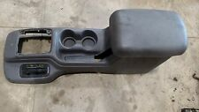 JEEP GRAND CHEROKEE ZJ 93-98 FACTORY CENTER CONSOLE GOOD SHAPE NO CRACKS OEM