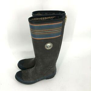 Pendleton Woolen Mills Smoke Olympic National Park Rubber Rain Boots Size US 9