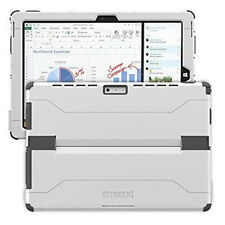 New Genuine Trident Microsoft Surface 3 Cyclops Hard Cover Case - White