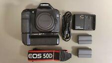 Canon EOS 50d, nur Body, 15 MP, mit BG-E2 Batteriegriff