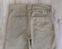 Sale% Carhartt Club Pant W32 L32 Beige Herren Denim Jeans Vintage Hose Retro