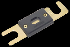 250 ANL GOLD AMP PLATED FUSE FOR BOTH HOLDERS AND POWER DISTRIBUTION BLOCK CAR