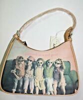 Girlfriend Friends Rhinestones Shoulder Purse Handbag Bag Tote Purse NEW