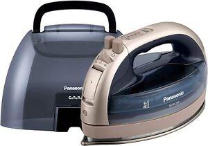 Panasonic Cordless Steam W Head Iron Pink Gold NI-WL705-PN