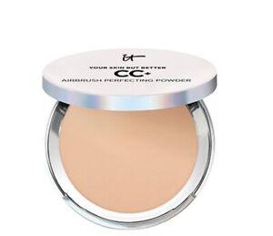 IT Cosmetics CC+ Airbrush Perfecting Foundation MEDIUM  .30 oz 🔥🔥