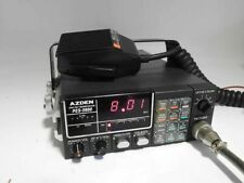 LOOKS ALMOST UNUSED AZDEN PCS-2800 10 METER FM TRANSCEIVER & MIC. - NEVER MOBILE