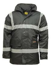 Hi Vis Parka Waterproof Coat Jacket | Workwear