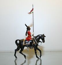 INDIAN ARMY MOUNTED LANCER, MOUNTED FIGURE #100   54MM CUSTOM MADE