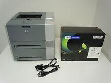 HP LASERJET 2420TN PRINTER & NEW COMP Q6511X 11X TONER HIGH YIELD 12,000 PAGES!