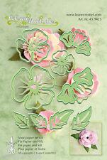 Lea 'bilities Cutting & Embossing Die-Flor 4-Floral - 45.9425 - Nuevo fuera