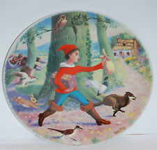 """""""Little Tom Thumb""""1984 Quelliers Morals of Perrault Serie French Collector Plate"""
