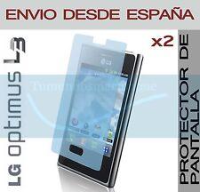 2x PROTECTOR DE PANTALLA LG OPTIMUS L3 E400