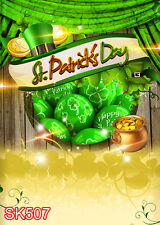 St. Patrick's day 5x7 FT CP SCENIC PHOTO BACKGROUND BACKDROP SK507