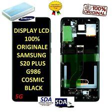 DISPLAY LCD + FRAME ORIGINALE SAMSUNG GALAXY S20+ PLUS SM-G985 G986 5G GRIGIO